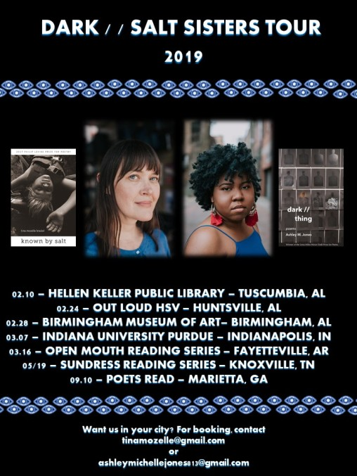 dark salt sisters tour poster update